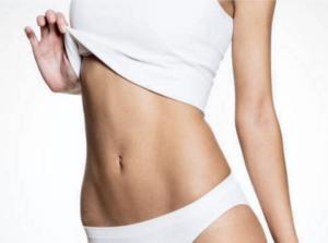 abdomen feminino definido